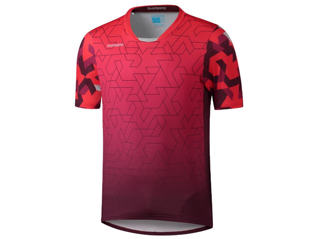 Shimano Myoko SS Jersey Men, red